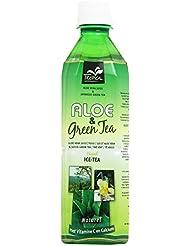 Tropical Bevanda con Aloe Vera e Te Verde, Addizionata di Vitamina C - 500 ml