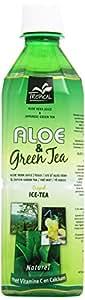 Tropical - Bevanda con Aloe Vera e Te' Verde, Addizionata di Vitamina C - 500 ml