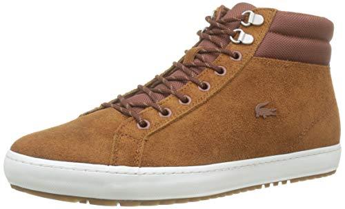 Lacoste Herren Straightsetinsulac3191cma Sneaker, Braun (Brown/Off White 2c3), 43 EU