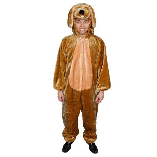 Dress Up America 318-Adult - Plüschwelpen-Kostüm Set, (Kostüme Welpen Maskottchen)