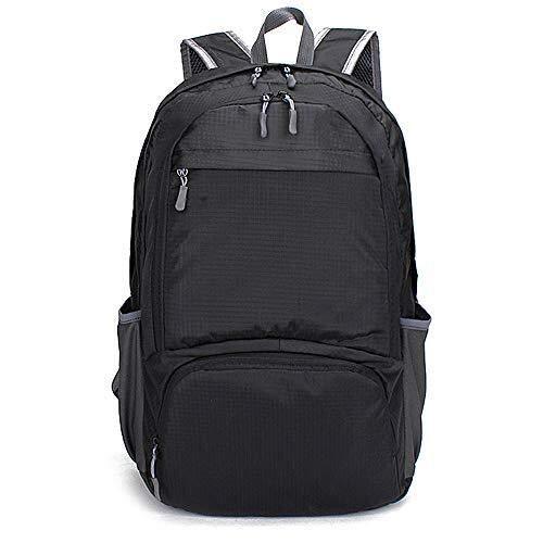 Unisex Rucksack Laptop Schultaschen, 17 Zoll Nylon Satchel Casual Daypack Reisetasche for Jungen Oder Mädchen