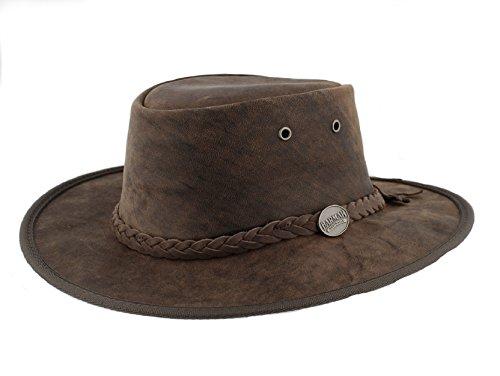 042404296ae10 Barmah 1060 Bronco - Sombrero plegable de piel