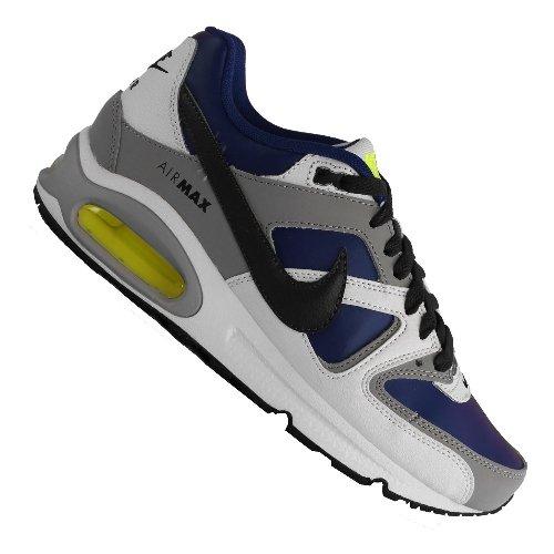 Chaussure Nike Air Max Command (Gs) Blanc / Gris / Bleu / Noir