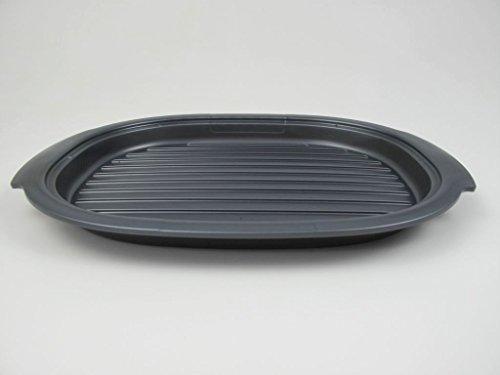 TUPPERWARE UltraPro Grillplatte grau Grilleinsatz Ultra Pro Grill Platte P 19541