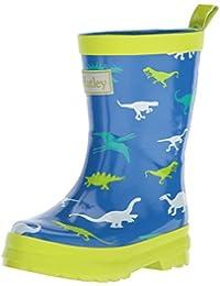 Hatley Boys' Printed Rain Wellington Boots, Dinosaur Menagerie, 6 Child UK 22 EU