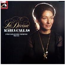 La Divina - Maria Callas in ihren bedeutendsten Aufnahmen 1953-64 [Vinyl Doppel-LP] [Schallplatte]