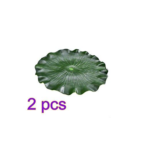 lulalula Tisch-Sets Tisch-Teppiche, rutschfeste Wärmedämmung Wasserdicht Eva Tisch Tisch-Sets Set für Esstisch öldicht Platzmatten, (Lotus Leaf), Ethylenvinylacetat, Lotus Leaf, 2 Pcs