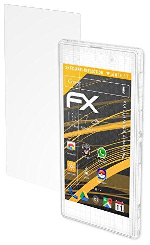 atFolix Panzerfolie kompatibel mit Hisense Infinity H11 Pro Schutzfolie, entspiegelnde & stoßdämpfende FX Folie (3X)