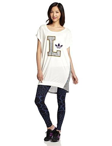 Adidas Lakers T W robe 34 white