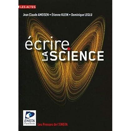 Écrire la science