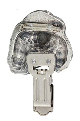 Cavalier King Charles, Hund, Hund clipring, Hundeausstellung Ringclip/Rufnummerninhaber, limitierte Auflage, Artdog - 5