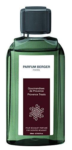 Parfum Berger 6039 Recharge pour Bouquet Parfum Gourmandises de Provence Transparent 200 ml