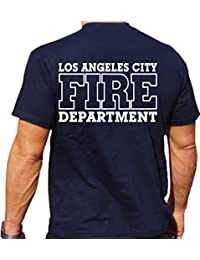 feuer1 T-Shirt Navy, Los Angeles City Fire Department