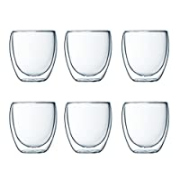 Bodum Pavina Double Walled Thermo Glasses, Set of 6