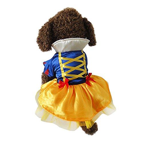 nzessin Kostüm - Märchen Karneval Halloween (S) (Prinzessin-kostüme Für Hunde)