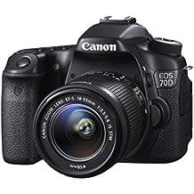 Canon 70D + 18-55mm IS STM Appareil Photo Numérique Compact 20.2 Mpix Noir (Reconditionné)