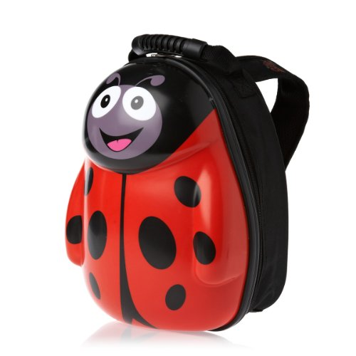 Heefa Kinderrucksack The Cuties and Pals Rucksack Rot