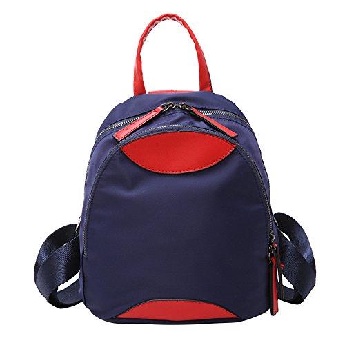 Mefly Sport Borsa Da Viaggio Di Piacere Studente Di Moda Zaino Blu blue