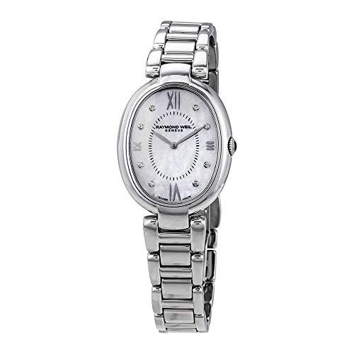 Raymond Weil Shine Ladies orologio al quarzo, madreperla, 8diamanti, 29mm
