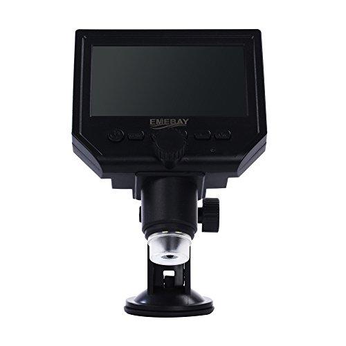 'emebay-HD 3,6MP Mikroskop Tragbare digitale + LCD 4.3-Mikroskop Digital/Camcorder Kamera + Micro SD Karte Slot, Fang von Foto und Video