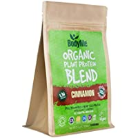 BodyMe Organic Vegan Protein Powder Blend | Raw Cinnamon | 250g | UNSWEETENED with 3 Plant Proteins