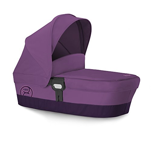 CYBEX GOLD Carry Cot M, Kinderwagenaufsatz, Kollektion 2016, Grape Juice