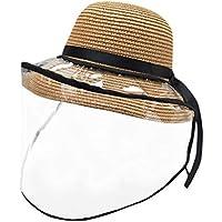 Fannyfuny Sombreros Protector Anti-escupir Antipolvo Cubierta a Prueba de Polvo Gorras con Visera Tamaño Ajustable Salpicaduras Extraíble