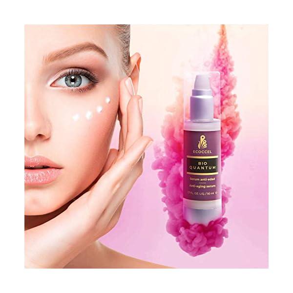 Sérum Facial con Ácido Hialurónico, Vitamina C, A, E y B3, Retinol, Omega 9, Aloe Vera, Quinoa y FPS. Efecto Crema…