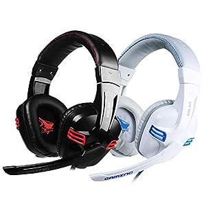 KARTELEI Gaming Kopfhörer Stereo Noise Isolation Headset für PC, Xbox One, PS4, Nnintedo Switch