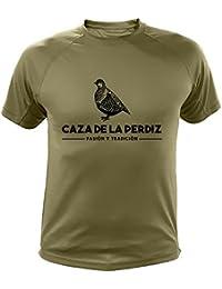 Camiseta de caza, Pasión y Tradición, Caza de la Perdiz (30136, ...