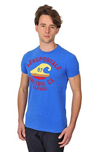 aeropostale-tshirt-herren-blau