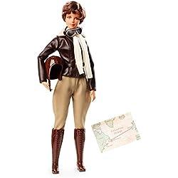 Barbie Collectors–Amelia Earhart, la Colección Inspiring Women, Multicolor, fjh64