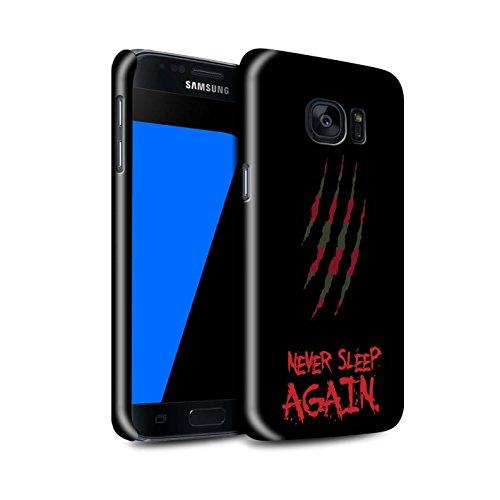 STUFF4 Glanz Snap-On Hülle / Case für Samsung Galaxy S7/G930 / Freddy Krueger Inspiriert Kunst Muster / Grusel Filmkunst Kollektion