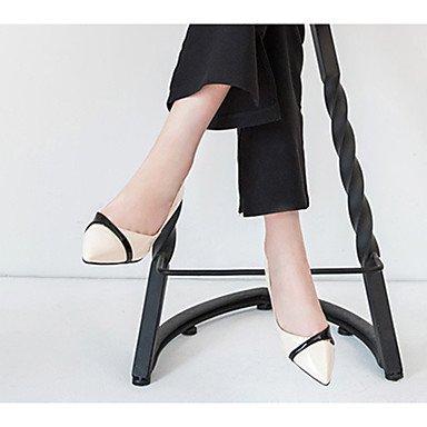 LvYuan Da donna Sandali Comoda PU (Poliuretano) Estate Casual Footing Comoda Più materiali A stiletto Nero Beige Rosa 7,5 - 9,5 cm beige