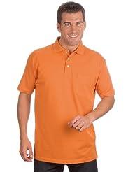 QUALITYSHIRTS Kurzarm Poloshirt mit Brusttasche Gr. S - 8XL