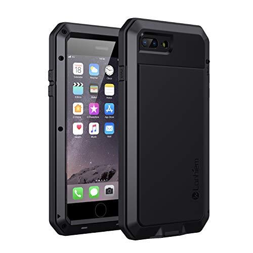26c0494908c Lanhiem Funda iPhone 7 Plus / 8 Plus, [Rugged Armour] Antigolpes Metal  Estuche
