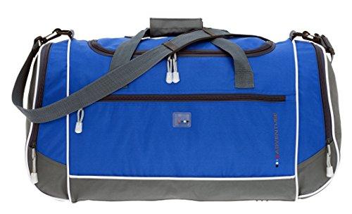 SPEAR Adventure Pro Sporttasche 60 cm mit 2 x Naßfach und Gurt (Marine-Blau) (Marine-blau-gurt)