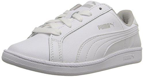 Puma Smash Fun L Ps Kunstleder Turnschuhe, White-White, 13 M US Little Kid - Verkauf Puma Schuhe