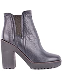 HOGAN FEMME MCBI148015O MARRON LAINE BOTTINES JOf85tOP