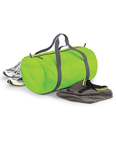 Bag Base mixte Bg150lime Pack Away Sac de corps, Vert citron, Medium