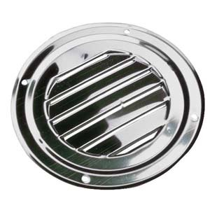 AISI 316 Marine Grade Stainless Steel Round Louvered Boat caravan Vent 125mm Test