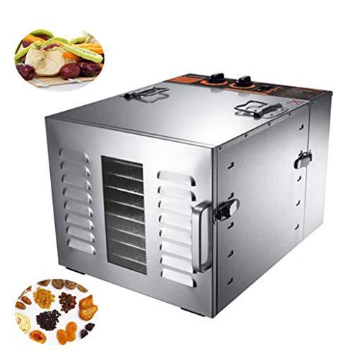 DOOST Deshidratador eléctrico Alimentos Acero Inoxidable