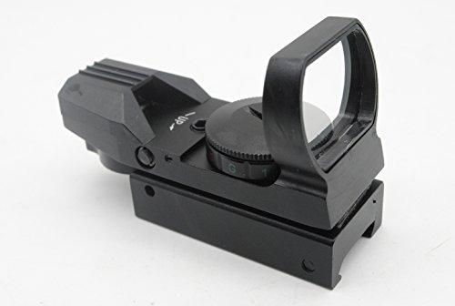 trirock Optik Rot grünen Punkt Holografische Reflex Sight Scope mit 4Typ Fadenkreuz für 20mm Schienen