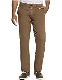 JP 1880 Herren große Größen bis 66 | Chino | lange Hose aus Premium-Baumwolle | gerader Schnitt, Regular Fit | cognac, dunkelgrün, grau, oliv | 711591