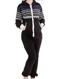 suchergebnis auf f r warmer fleece overall jumpsuits damen bekleidung. Black Bedroom Furniture Sets. Home Design Ideas