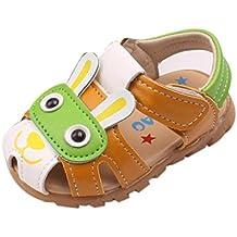 Zapatos de bebé, ❤ Manadlian Niño zapatos de verano con luces intermitentes sandalias zapatos