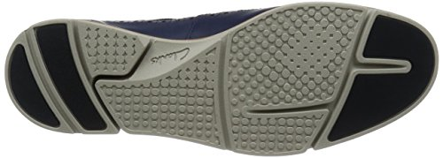 Clarks Trigen Limit, Derby homme Bleu (Blue Leather)