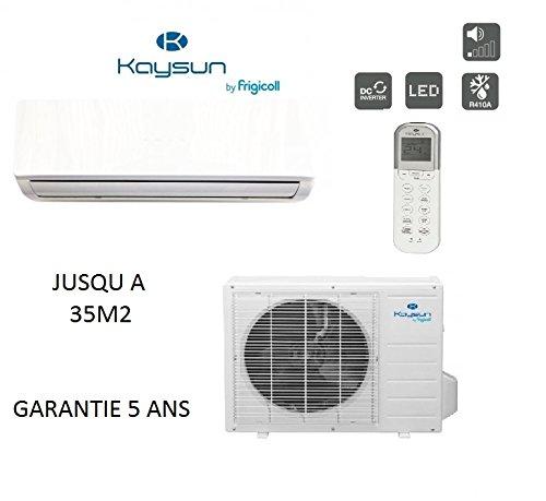 Climatización Kaysun Prodigy 2600W para Piece 35M2