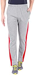 2Go Active Gear USA Mens Track Pants (EC-TPN-03Greymel/redS)