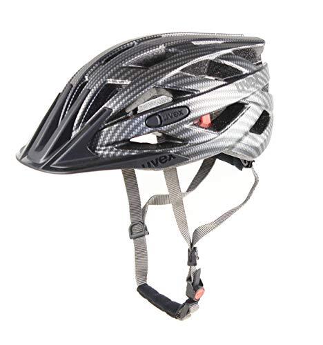 Uvex Erwachsene I-VO CC Fahrradhelm black Carbon Look mat 56-60 cm